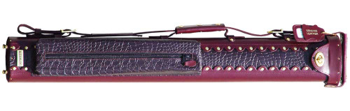 Sterling Burgundy Pro Pool Cue Case for 1 Cue