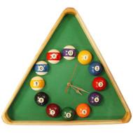 Giant Triangle Billiards Clock