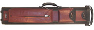 Sterling Ultra-Leather Rolling Case, 4 Butts and 8 Shafts, in Black and Wine