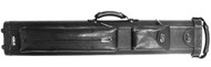 Sterling Ultra-Leather Rolling Case, 2 Butts and 4 Shafts, in Black