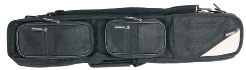 Sterling Black Angora Pool Cue Case for 4 Cues