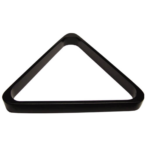 Deluxe Wood Pool Ball Triangle, Black