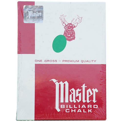 Master Chalk, Green, 144-Piece Box