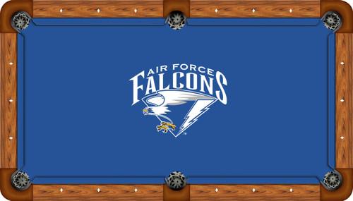 Air Force Academy Falcons 8' Pool Table Felt