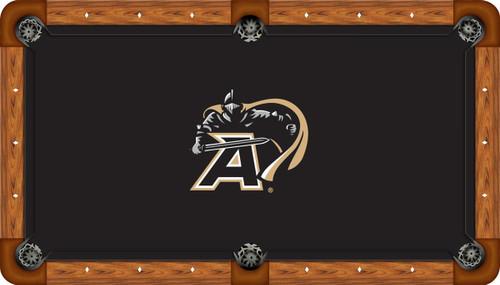 Army Black Knights 9' Pool Table Felt