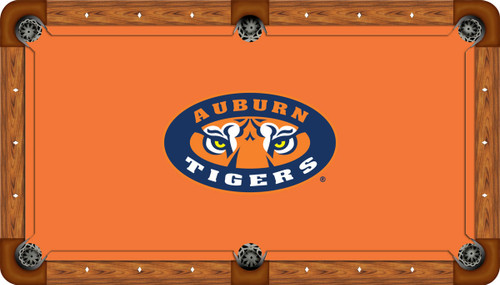 Auburn University Tigers 8' Pool Table Felt