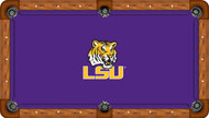 Louisiana State University Tigers 8' Pool Table Felt
