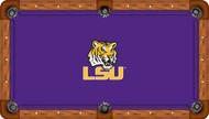 Louisiana State University Tigers 9' Pool Table Felt