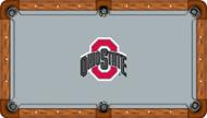 Ohio State University Buckeyes 7' Pool Table Felt