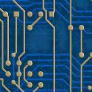 ArtScape 9' Blue Circuit Board Pool Table Cloth
