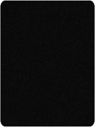Invitational 7' Black Pool Table Felt