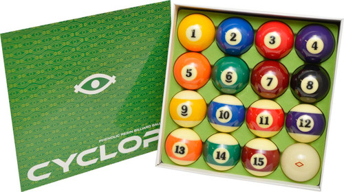 Cyclop Professional Pool Ball Set