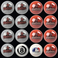 Houston Astros Pool Balls