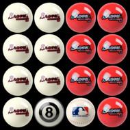 Atlanta Braves Pool Balls