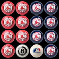 Boston Red Sox Pool Balls