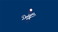 LA Dodgers Pool Table Felt – 8 foot table