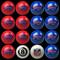 Buffalo Bills Pool Balls