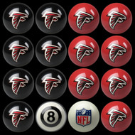 Atlanta Falcons Pool Balls