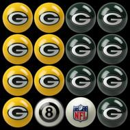 Green Bay Packers Pool Balls