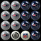 New England Patriots Pool Balls
