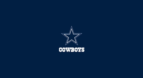 Dallas Cowboys Pool Table Felt for 8 foot table