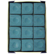 Silver Cup Chalk, Blue, 12-Piece Box