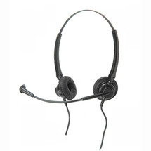 Agent 200 Binaural Headset + U10P Connection Cable