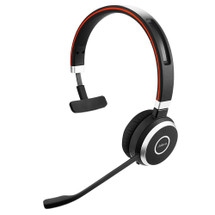 Jabra Evolve 65 Wireless Bluetooth Headset - Mono Side View