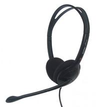 Eartec Office 100 USB Binaural Headset in Black