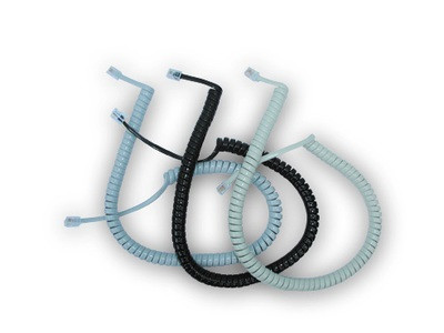 Nortel Meridian Replacement Curly Cords in different colours