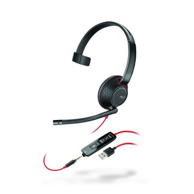 Plantronics Blackwire C5210 Monaural USB & 3.5mm Headset