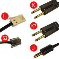 Plantronics Stub Cable Range - E10
