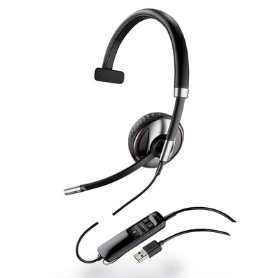 Plantronics Blackwire C710-M Bluetooth-Enabled USB Monaural Headset