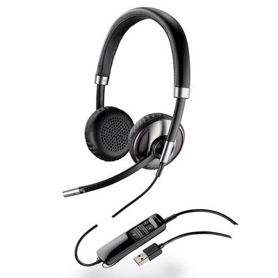 Plantronics Blackwire C720-M Bluetooth-Enabled USB Binaural Headset