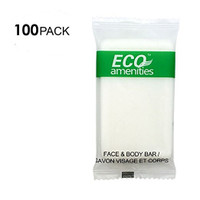 Eco 1 oz Individually Wrapped Cleaning Soap - 0.40¢  Each