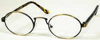 Oval Metal Reading Glasses
