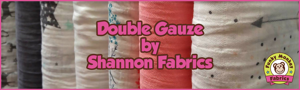 Double Gauze by Shannon Fabrics
