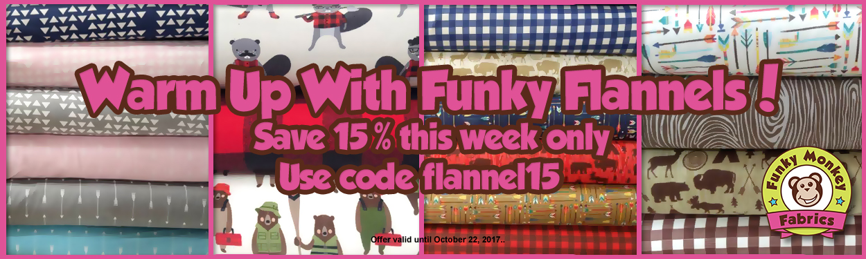 Warm up with 15% off flannels this week!