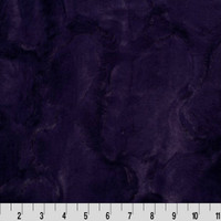 Eggplant (Dark Purple) Hide Luxe Minky - 1/2 yard