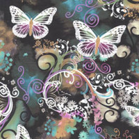 Filigree Flutter - Michael Miller Cotton - 1/2 yard