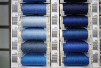 Bright Navy Blue #266 Polyester Thread - 100m