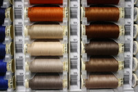 Ecru #500 Polyester Thread - 100m