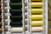 Cream #805 Polyester Thread - 100m