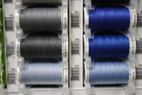 Cobalt Blue #251 Polyester Thread - 250m