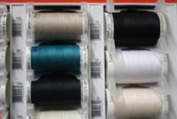 Black #10 Polyester Thread - 500m
