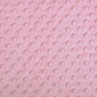 Blush Dimple Minky - 1/2 yard