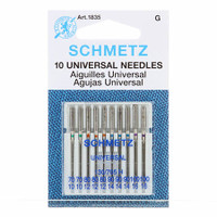 Schmetz Universal Machine Needles 70/80/90/100