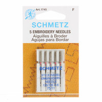Schmetz Embroidery Machine Needles 11/75 (5 pack)