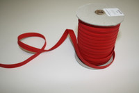 "Red Double fold Bias Tape 1/2"" – Sold by the yard"