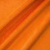 Orange Minky Smooth - 1/2 yard